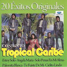 Conjunto Tropical Caribe 20 Exitos Originales CD No Plastic Seal