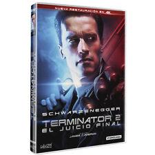 PELICULA DVD TERMINATOR 2: EL JUICIO FINAL EDICION RESTAURACION EN 4K PRECINTADA