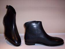 Balenciaga scarpe classiche eleganti stivali stivaletti uomo pelle cuoio neri 40