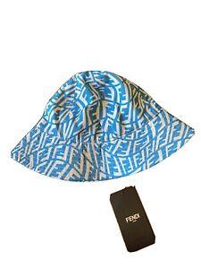 New Fendi FF FishEye wide-brim hat Originally $750