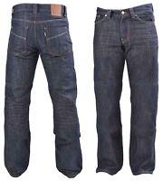 Mens Motorbike Denim Jeans Protective Slim Fit DIVALO® Made With DuPont™ Kevlar®