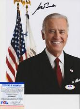 Joe Biden Vice President Signed Autograph 8x10 Photo Psa/Dna Coa A