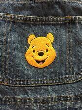 Winnie The Pooh Denim Blue Jean Overalls Youth Kids Disney Size M 10-12