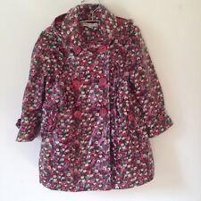 Girls Autograph Fleece Lined Soft Plastic Mac Coat Age 2/3