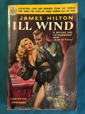 Vintage 1951 Avon 325 Pulp ILL WIND by James Hilton GGA Lingerie Cover