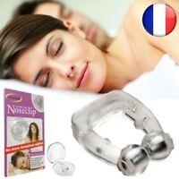 Silicone Magnétique Anti Ronflement Stop Pince-Nez Sommeil Aide à Dormir Apnée