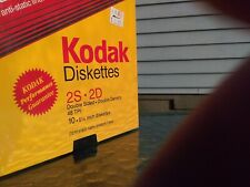 "Vintage Kodak Diskettes MD2  2S 2D  51/4"" 12 Pack 48 TPI BRAND NEW SEALED!!!"