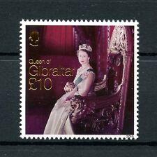 Gibraltar 2015 MNH Queen Elizabeth II Longest Reign 1v Set Royalty Stamps