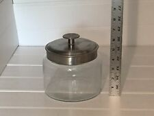 Glass Jar Stainless Steel Lid Clear 20750 Anchor Hocking ?