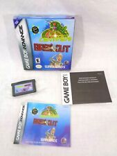 Centipede/ Breakout/ Warlords (Nintendo Game Boy Advance Gba) Complete in Box