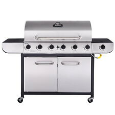 Royal Gourmet Stainless Steel 6-Burner Propane Gas Grill Sear / Side Burner