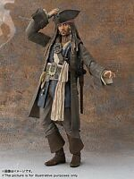 SHF Captain Jack Sparrow Action Figure Pirates of the Caribbean Johnny Depp