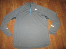 Mens Nike Dri Fit Running quarter zip shirt sz Xl