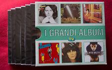 Box cofanetto 6 x cd I GRANDI ALBUM Vasco Zero Consoli Battiato Baglioni Britti