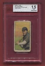 1909-11 T206 Bill Hinchman 649 BROWN HUNDU BACK ULTRA LOW POP RARE NICE BVG 1.5