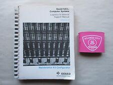 Gould S.E.L. Computer System Logistics Material Support Manual Vol 2