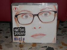 CATTIVI PENSIERI - MICKY 3,36 - cd singolo slim case PROMOZIONALE 1996