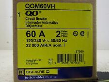 Square D Qom60Vh : Miniature Circuit Breaker 240V 60A