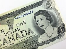 1973 Canada 1 One Dollar Uncirculated MC Replacement Lawson Bouey Banknote R385