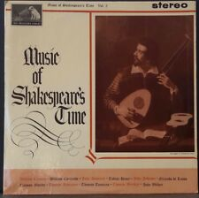HMV CSD 1488 ED 1 UK PRESS MUSIC OF SHAKESPEARE'S TIME VOL. 2 ARR. DIANA POULTON