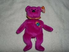 TY BEANIE BABY MILLENNIUM BEAR DOLL COLLECTIBLE WITH TAG FREE SHIP TO THE USA