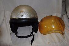 Rare 1950's AMA Group 1 Vintage Silver / Gold metal flake w/ Bubble Shield Amber