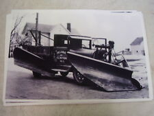 1930 'S TRUCK FORD? WITH BIG SNOW BLADE?  11 X 17  PHOTO  PICTURE