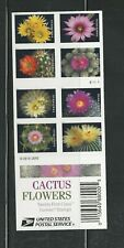 2019 Cactus Flowers Complete Booklet of 20 Forever Stamps #5359a with 5350-5359