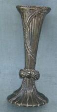Vintage Godinger Silver Tone Metal Bud Vase 1990