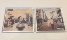 More details for oasis what the story definitely maybe cd cover  coaster set xmas git idea
