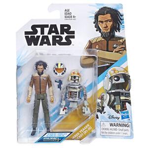"Star Wars Resistance Jarek Yeager + Bucket (R1-J5) 3.75"" Action figure New/Boxed"