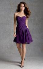 8529f3a1e760 Kissy Dress Purple Watermelon Short/Knee Length Bridesmaid Dress UK 6 Box14  09 g