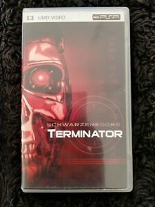Terminator UMD Video for Sony PSP (REGION 2) Very Rare HTF French Edition