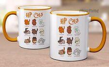Harry Potter Cats Mug Cup - Ceramic 330ml - Beautiful & Cute - Cat Pet