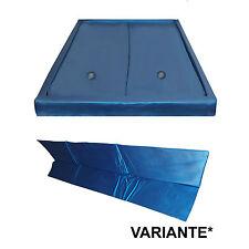 2 x Wasserkern DUAL +Trennwand  Wasserbettmatratze Softside Set Wasserbetten