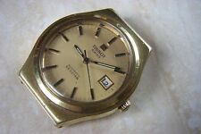 Tissot Gold Plated Case Men's Analog Wristwatches