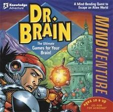 Dr. Brain Mind Venture  Ultimate Games for Your Brain  Win XP Vista 7 8   NEW