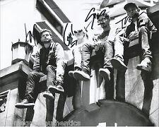 ENGLISH INDIE ROCK ALT J BAND SIGNED 8X10 PHOTO W/COA AN AWESOME WAVE JOE GWIL B