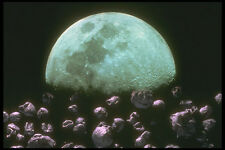 283028 rocce intorno MOON A4 FOTO STAMPA
