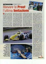 Z96 Ritaglio Clipping 2002 Formula 3000 Prost Ivone Svela