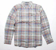 MATIX Draft Flannel Shirt (L) Gray