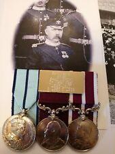 More details for long service /msm delhi durbar medal group bandmaster welsh regiment