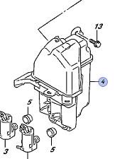 Genuine Suzuki Valve Fuel Tank Inlet 89280-77A00-000