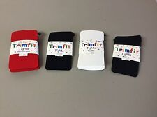 NWT 6 Pair Girl's Trimfit Tights Mixed Lot Size 4-6 Multi #161R