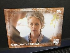 The Walking Dead Season 5 Rust 12/99 SIZING UP THE THREAT Card#82 Carol Peletier