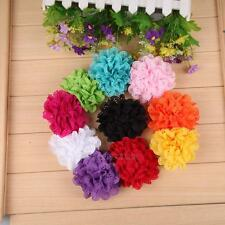10Pcs/Lot Newborn Baby Kids Girl Chiffon Lace Flower Headband Hair Band Headwear