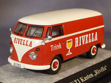 SCARCE PREMIUM CLASSIXXS VW T1 VAN RIVELLA SWISS PROMO 1:43 NEW BOXED 1 OF 250