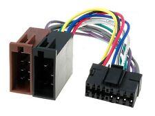 Câble adaptateur connecteur faisceau ISO pour autoradio JVC autoradio 16 pin