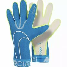 Nike Mercurial Touch Elite Soccer ACC Goalkeeper Gloves Blue Size 8 GS3886-486