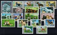 AE138822/ MONACO – DOGS / LOT 1971 – 1985 MINT MNH CV 120 $